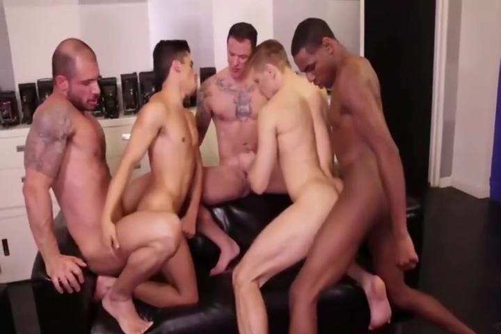 5 dude raw orgy Help Her Patient