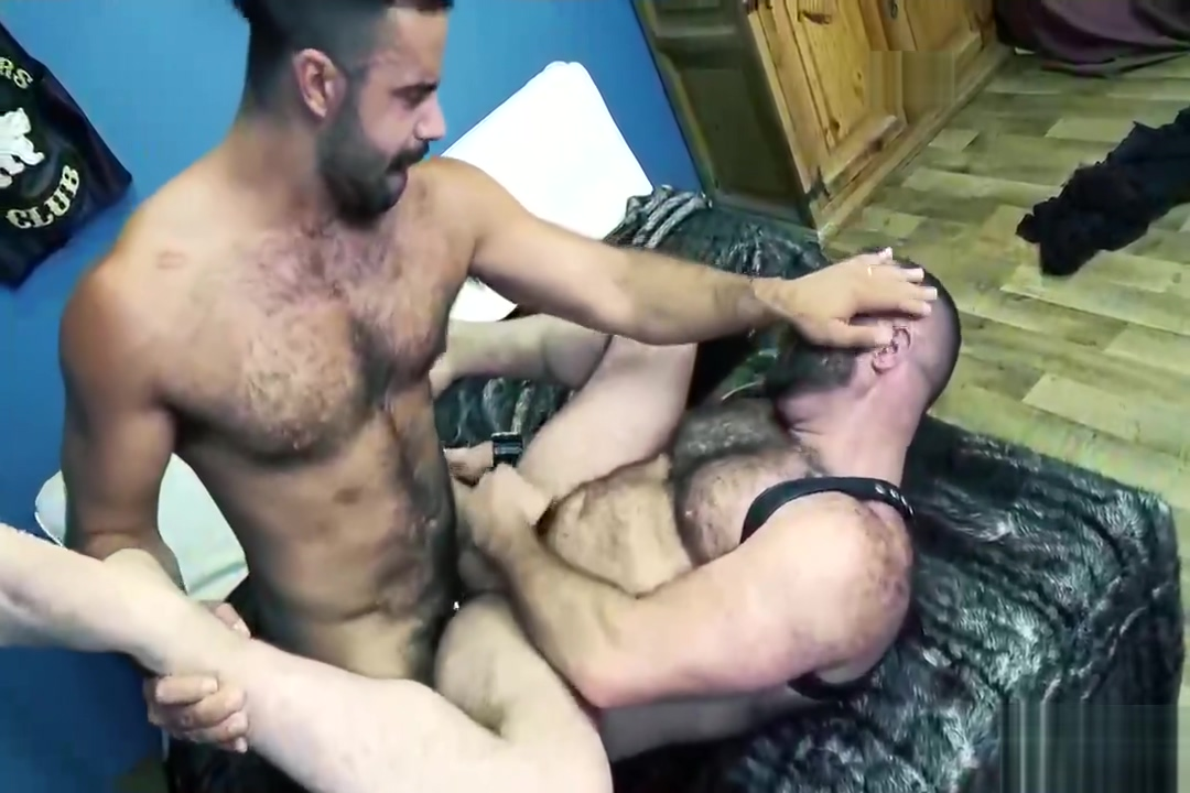Big Bare Bear Fuck witth Matthieu Angel and Teddy Torres Hairy asian pussy upskirt
