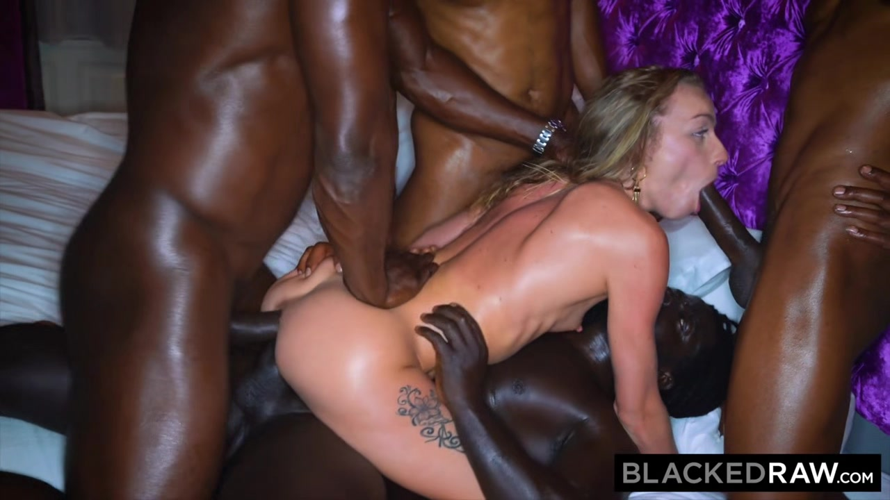 BLACKEDRAW All she wanted was to be passed around by 4 black guys My fat ex nude
