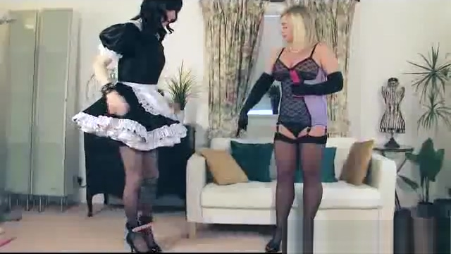 sissy Maid attends to her decadent Mistress Gisborne surf report