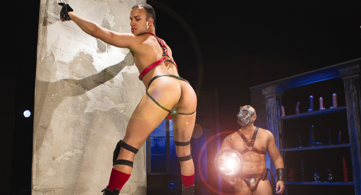 Franco Ferrari & Jordano Santoro in The Dom Video Busty sexy milf hot sex