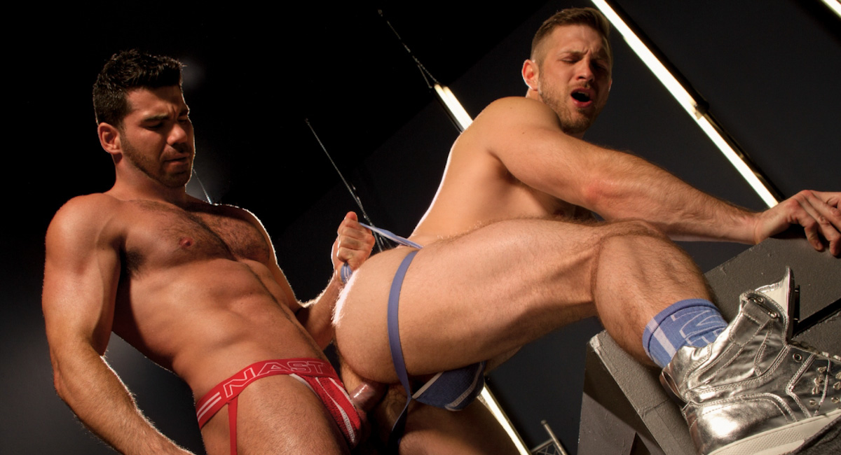 Paul Wagner & Billy Santoro in Stunners Video Bristol images piss