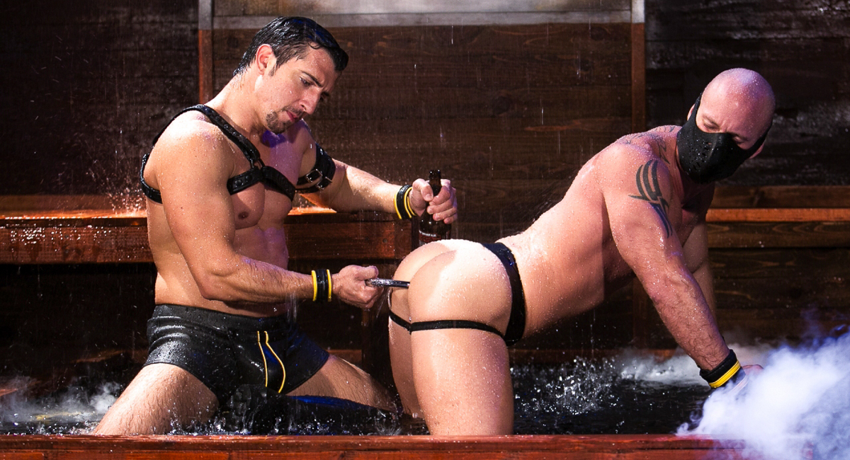 Jimmy Durano & Mitch Vaughn in The Dom Video Eastern European Porn