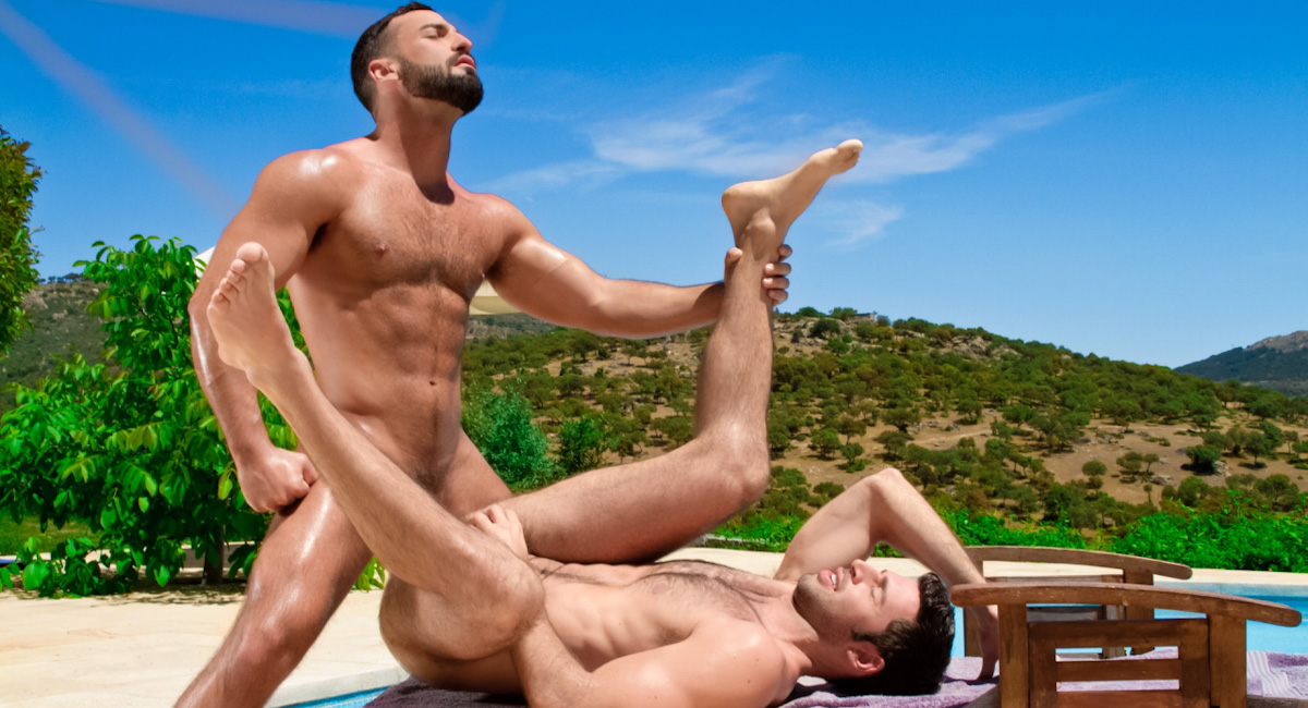 Abraham Al Malek & Dario Beck in Gran Vista Video Sexy milf list