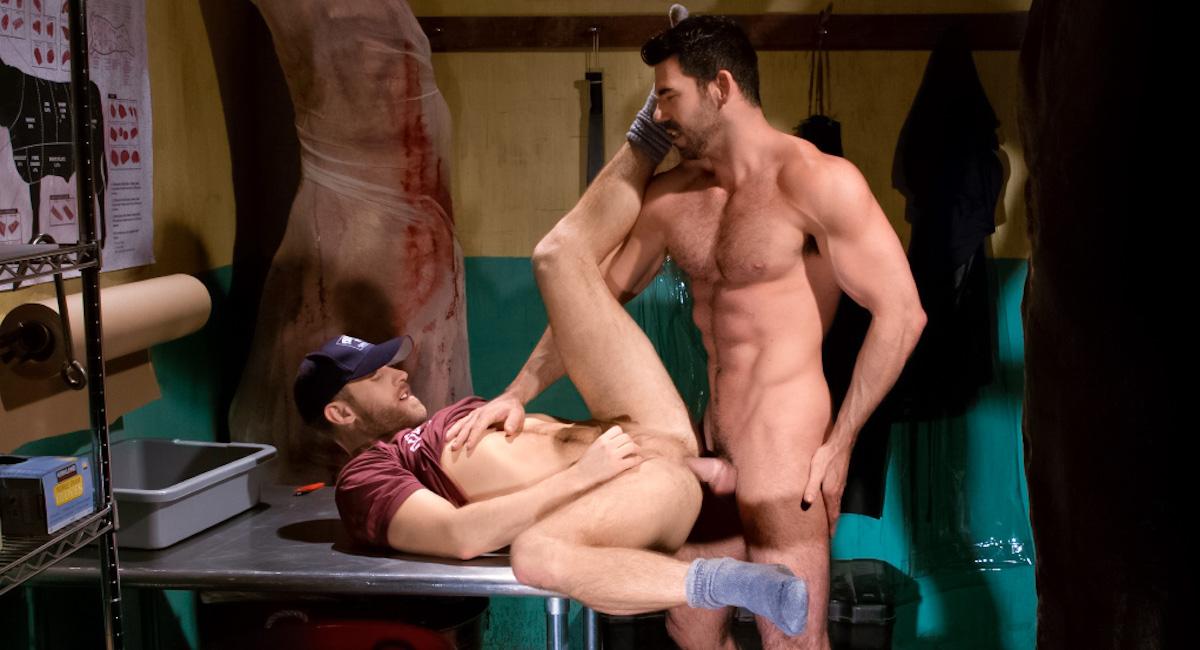 Shawn Wolfe & Billy Santoro in San Francisco Meat Packers - Part 1 Video Naked snapchat selfies