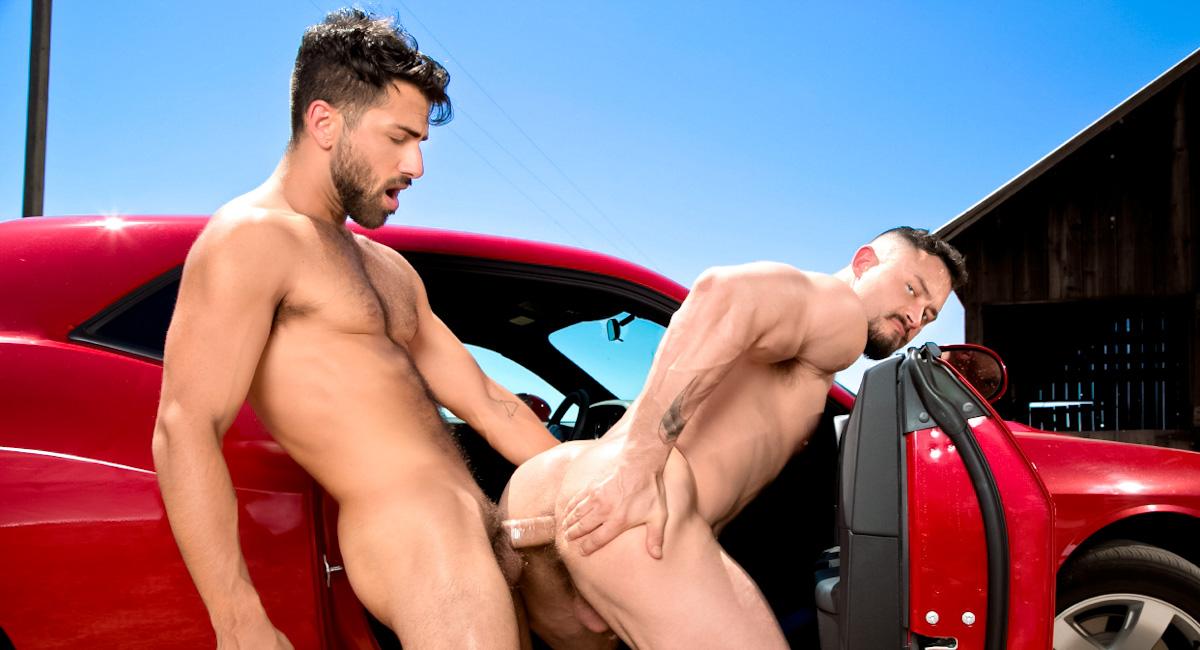 Adam Ramzi & Seven Dixon in Open Road - Part 1 Video Bondage machine fucked hard last night,