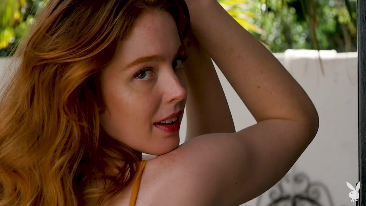 Erna OHara in Courtyard Charm - PlayboyPlus