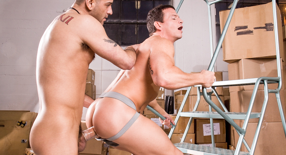 Cavin Knight & Tony Buff in Hes Got A Big Package, Scene #01 Aged Love Mature