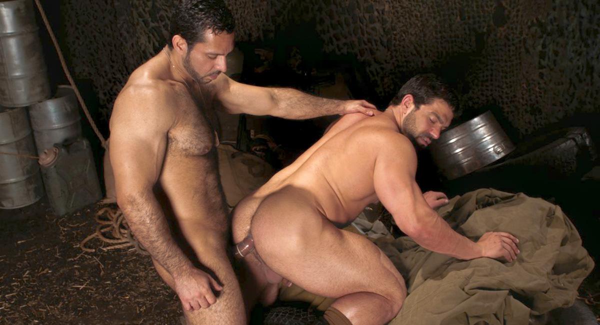 Adam Champ & Vince Firelli in Night Maneuvers, Scene #02 Tube girl helps guy jerk off