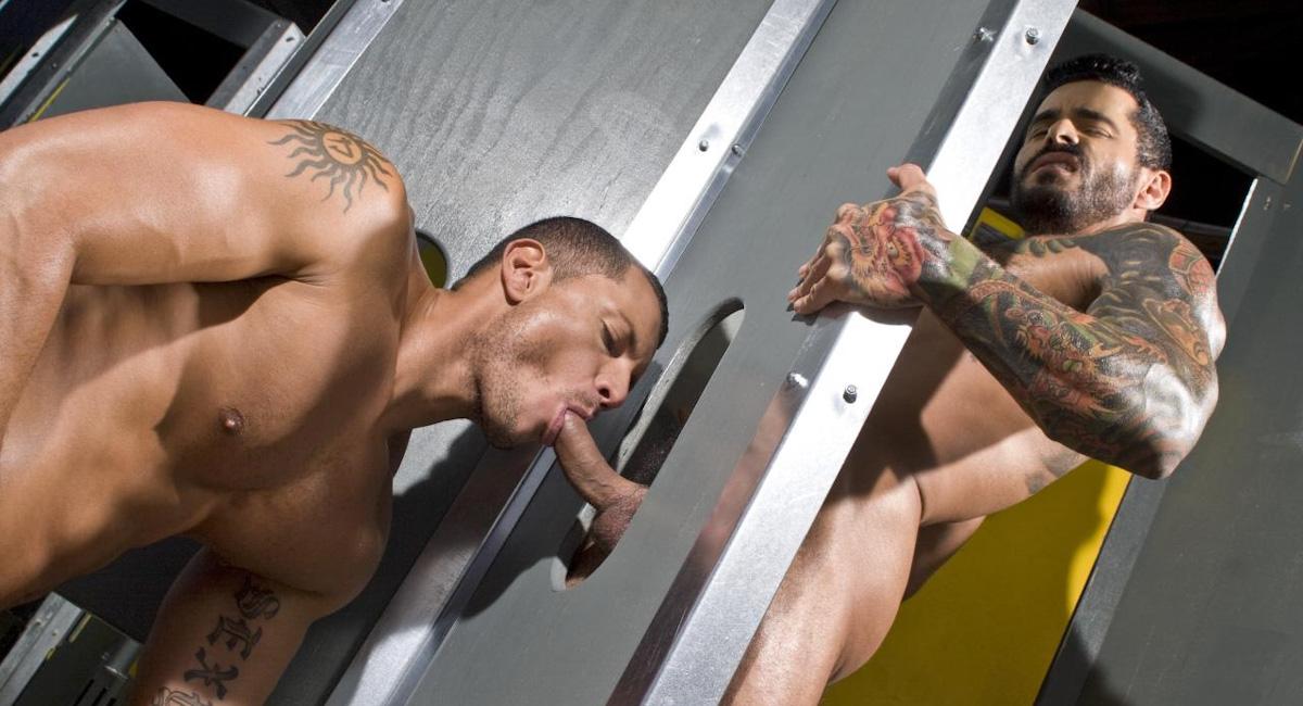 Angelo Marconi & Alexsander Freitas in Steamworks, Scene #03 Ugly dating sites free