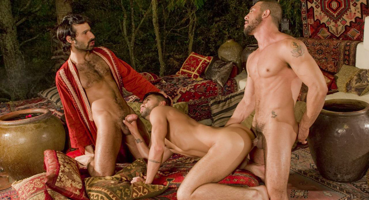 Dominic Pacifico & Aybars & Tony Aziz in Arab Heat, Scene #01 is this doll nice