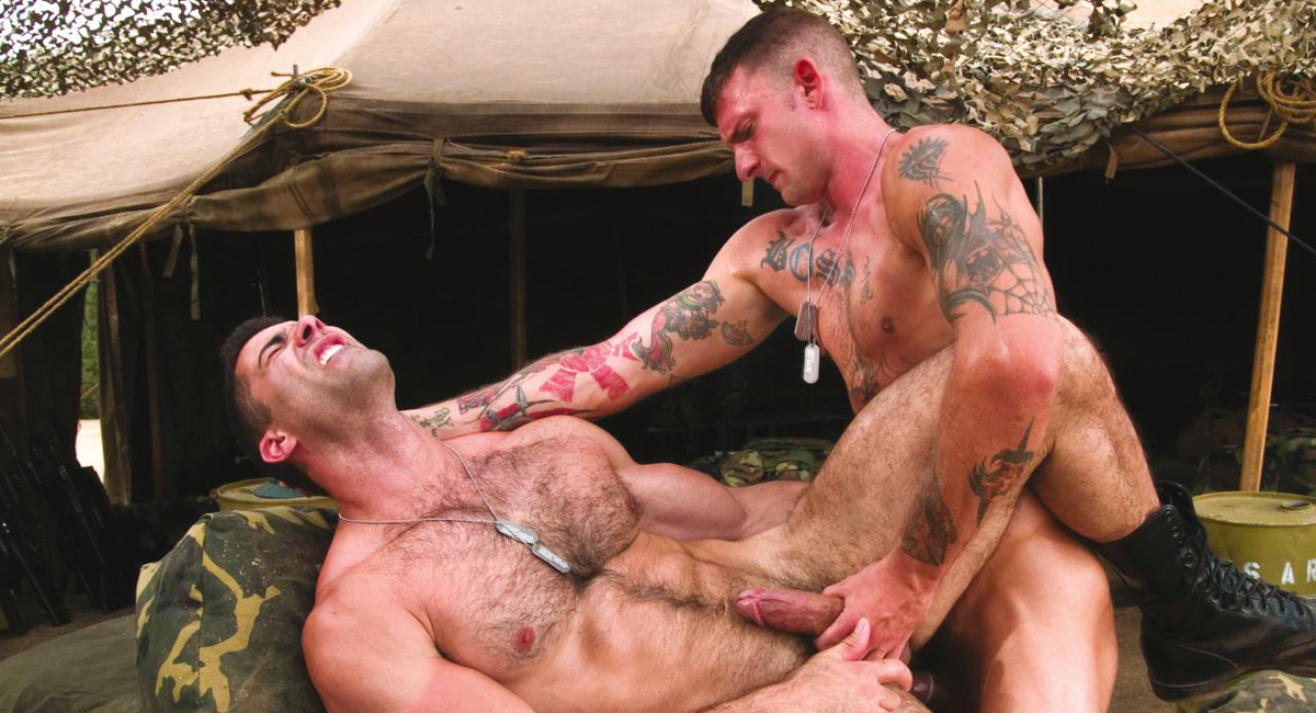 Ricky Sinz & Roman Ragazzi in Grunts The New Recruits, Scene #01 La la anthony nude pictures