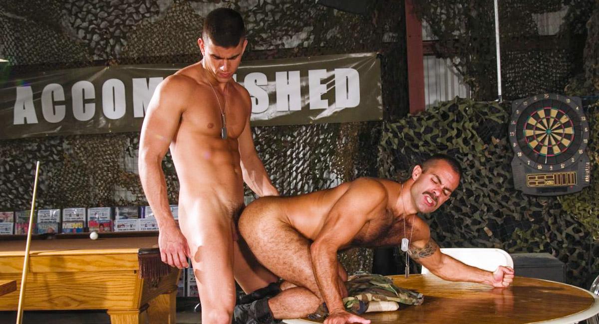 Steve Cruz & Max Schutler in Grunts The New Recruits, Scene #10 Very horny milf porn