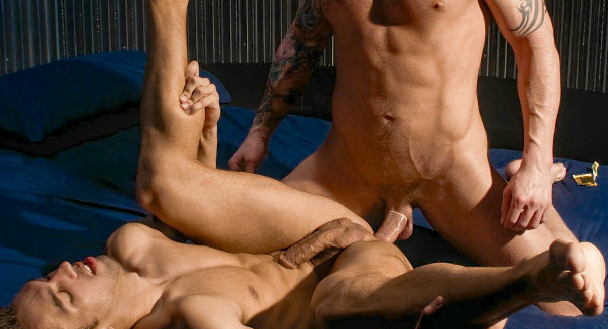 Logan McCree & David Taylor & Lucky Daniels in The Visitor, Scene #04 Ladies who spank men