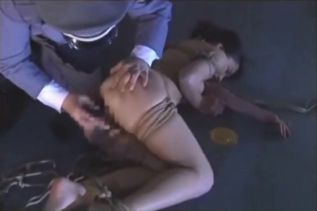 Asian Tied Led On A Rope And Toyed Women's sex drive after 60