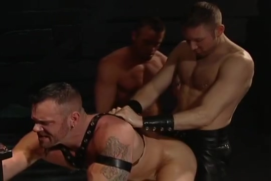 Leather Fuck Fist Four-way: Tober Brandt, Tyler Saint, Rick Van Sant Adam Faust wife on display tumblr
