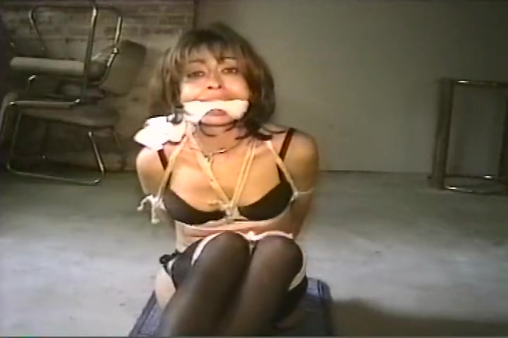 Vintage Cleave Gagged mature bbw wife gets young hard cock