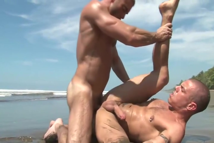 Jake and Jesse fuck on the beach top rated dvd porn