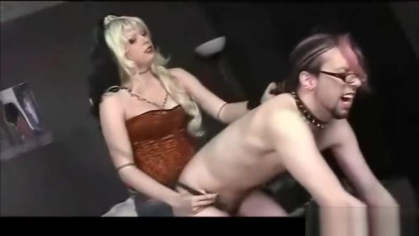 Femdom Strapon Punishment Asian babe breast massage