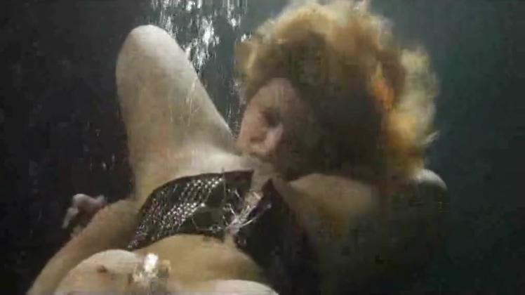 Underwater Lesbians Part 1 bdsm bondage slave femdom domination heather cum covered glasses