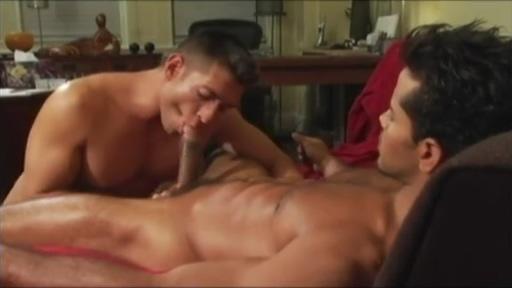 Bruce Beckham and Wilson Vazquez Game Sexs Korea