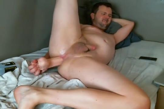 SMH27 takes big dildo on cam Czech boobs