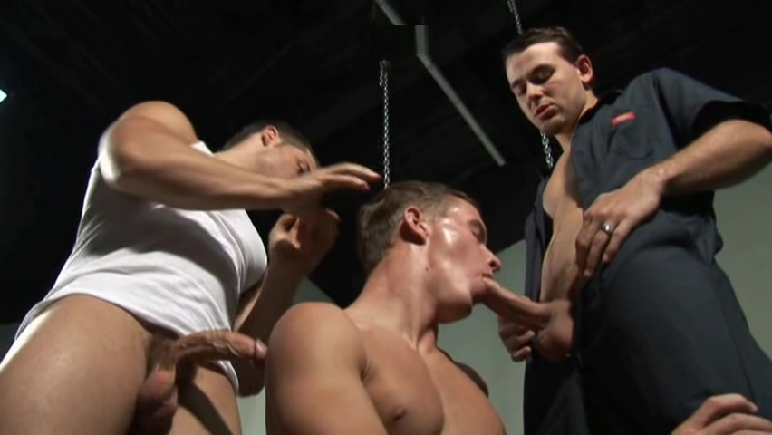 Big Dick Mechanics - Ryan Rush Tucker Vaughn Santos black ass sex black black rough