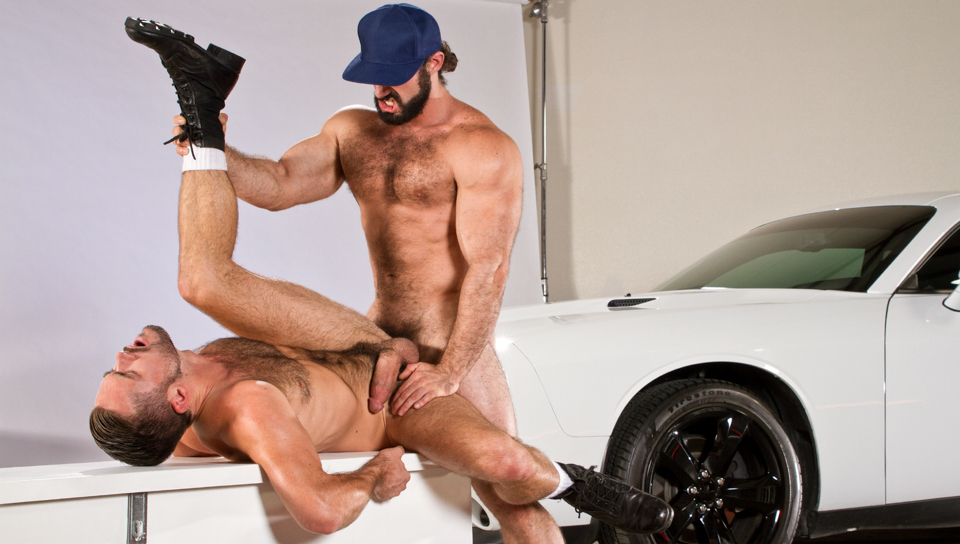 Auto Erotic, Part 2 XXX Video: Mike De Marko, Jaxton Wheeler Cunilingus facesitting mature orgasm