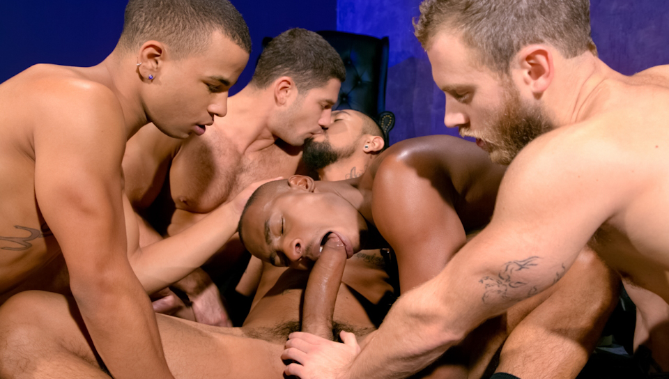 Into Darkness XXX Video: Shawn Wolfe, Dato Foland, Boomer Banks, Trelino, Tyson Tyler Daddy helps associates daughter get