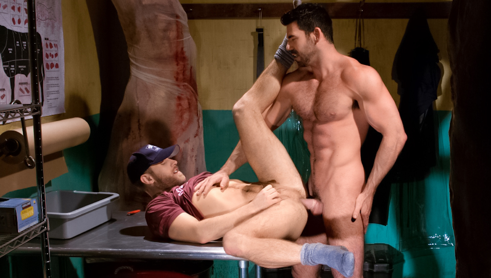 San Francisco Meat Packers - Part 1 XXX Video: Shawn Wolfe, Billy Santoro Play Game Sex