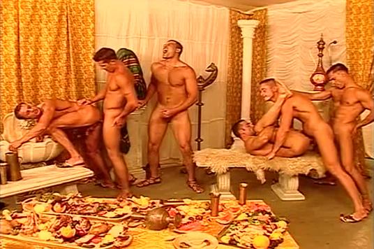 East European ali baba themed orgy Bukkake japanese cum swap