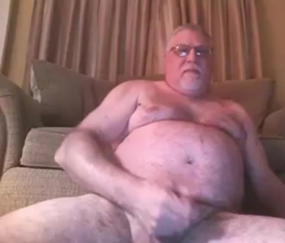 grandpa has a long stroke on cam Huge bottle in pussy