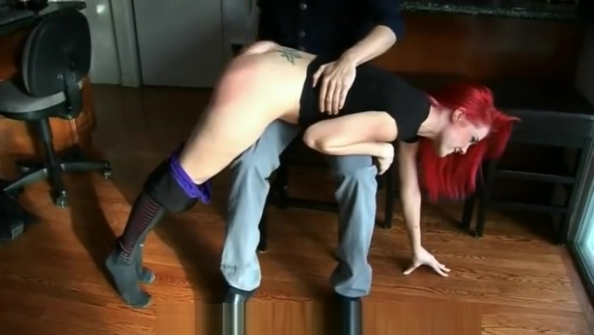 ALISON MILLER BLACK TIGHTS BENT OVER HARD SPANKING (2016) Nofacegirl creampie reverse