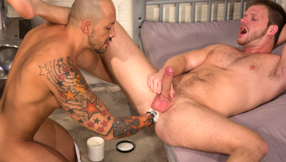 Brian Bonds & Jordano Santoro in Long Arm Of The Law Part 1, Scene #02 Older women forum