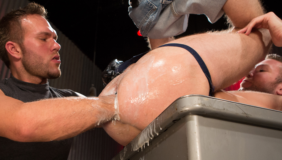 Rick Van Sant & Trent Bloom in Red Handed, Scene #03 Sexy Busty Milf Getting Fucked Right In Front Of Hubby