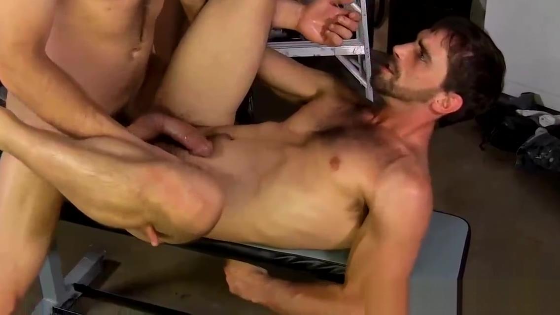 Horny hairy hunk slams hot jocks tight asshole in the garage how to video handjob