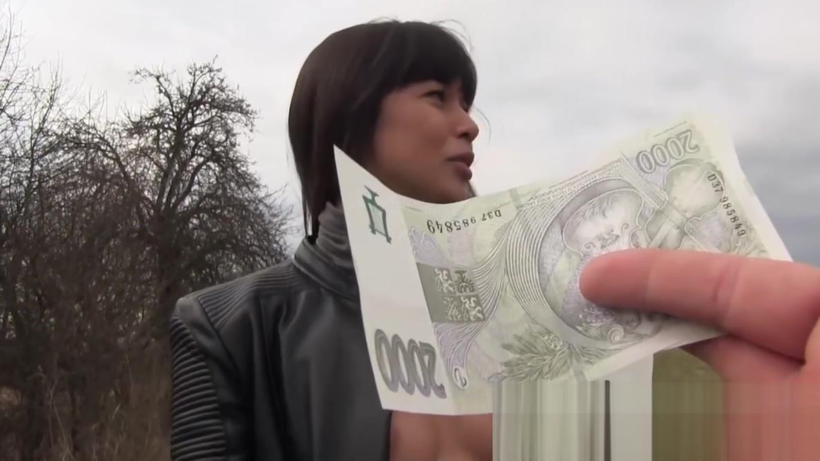 Public Pick Ups - Russian MILFs Creampie starring Mona Kim