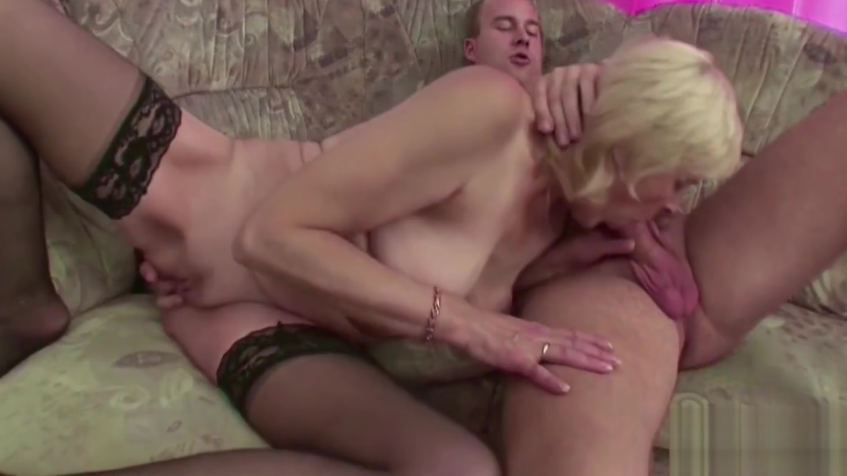 67yr old Granny Seduce to Fuck by Step Grandson after School Milf Tube Sex