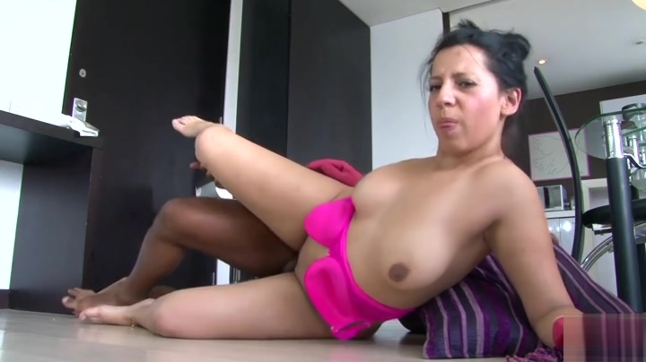 Pretty busty latino experienced lady is making him cum Teen thong public