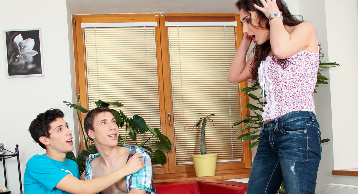 Zac Powers & Danny Montero in My Boyfriend Is Gay #02 Video hot mom gives virtual footjob