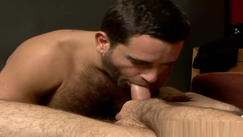horny hairy hunks have passionate sex Adam and eve house of ribs