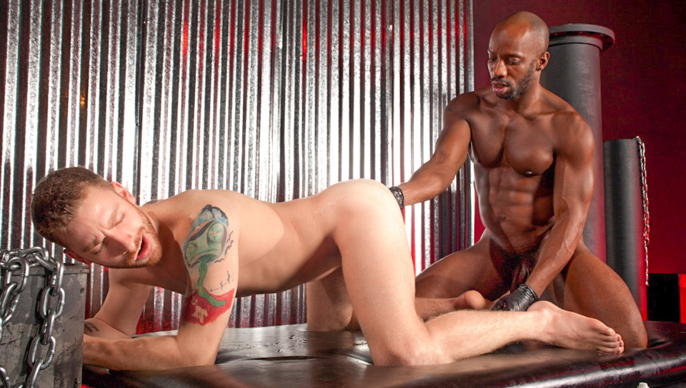 Barefoot And Fisted featuring Race Cooper, Sebastian Keys Bdsm Sex Games