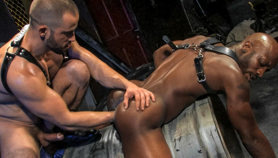 Gay Interracial Bondage Porn He Drains That Intact Cock To Utter