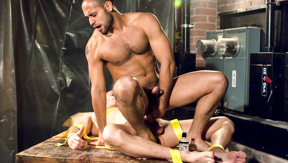 Industrial Encounters featuring Drew Cutler, Leo Forte Free blonde big tits