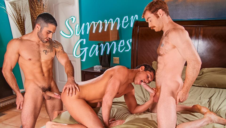 James Jamesson & Samuel OToole & Jett Jaxx in Summer Games XXX Video psp naked girl theme