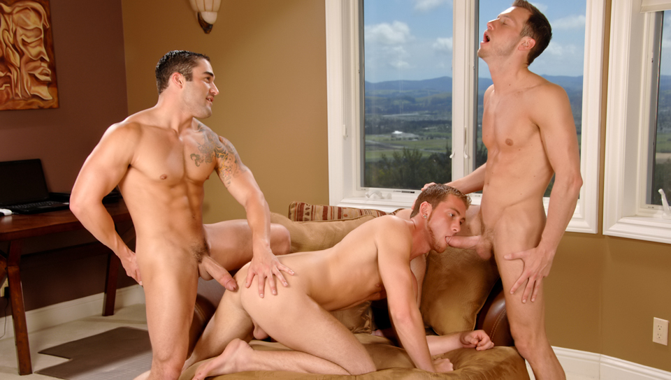 Samuel OToole & Kyle Quinn & Connor Maguire in Dick By The Foot XXX Video my wife lookingfor a fat cock