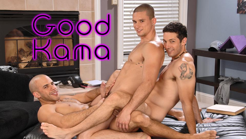 Austin Wilde & Anthony Romero & Silas OHara in Good Kama XXX Video Jobs blow job tricks