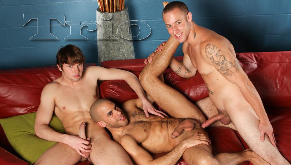 Austin Wilde & Angelo Romani & Campbell Stevens in TRIO XXX Video Multiple sex websites