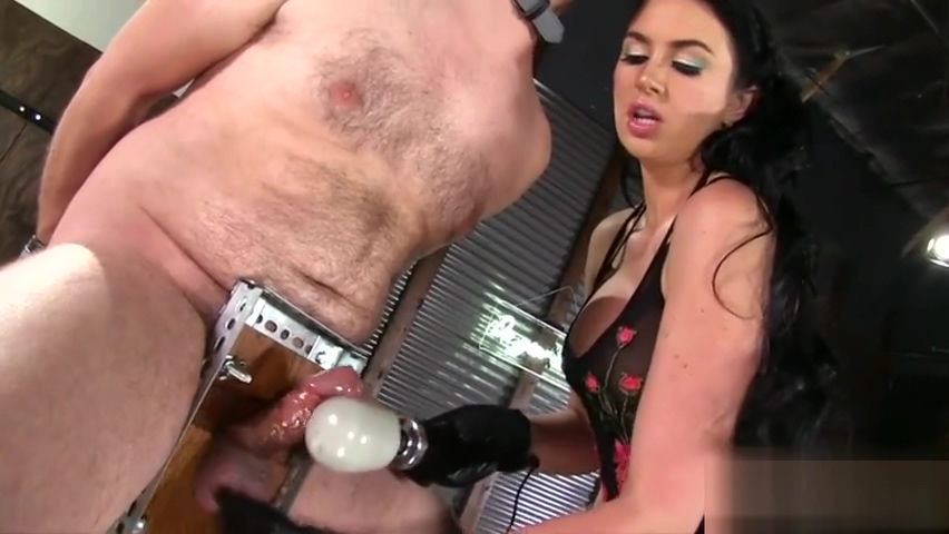 Brunette pornstar femdom with cumshot Big boobs and hot pussy