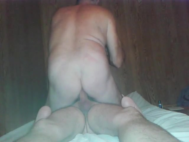GREAT FUCKING! Gay queer slave rides his Masters bare cock! Neighbors older wife nude